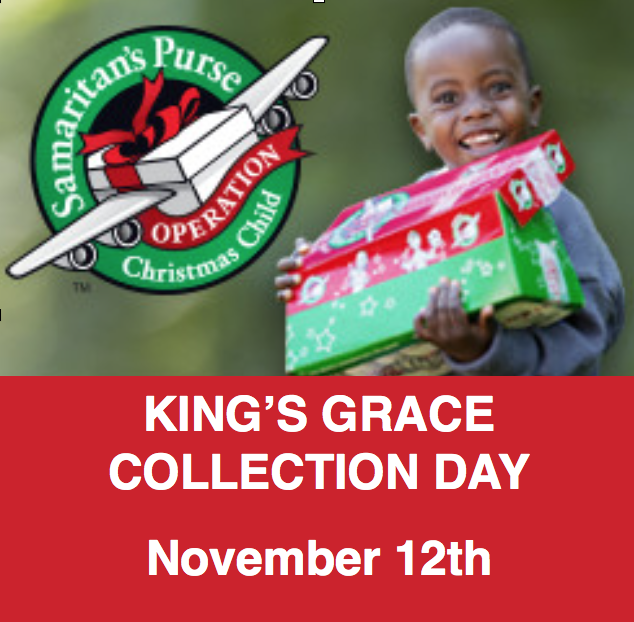 Operation Christmas Child (Shoeboxes) | King's Grace Fellowship